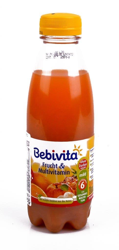 Bebevita-сок Мултивитамин 6м+ 500мл