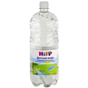 Hipp-Изворна вода за бебета 1.5л