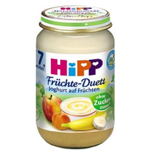 Hipp-Плодов дует йогурт с плодове 7м+ 160гр