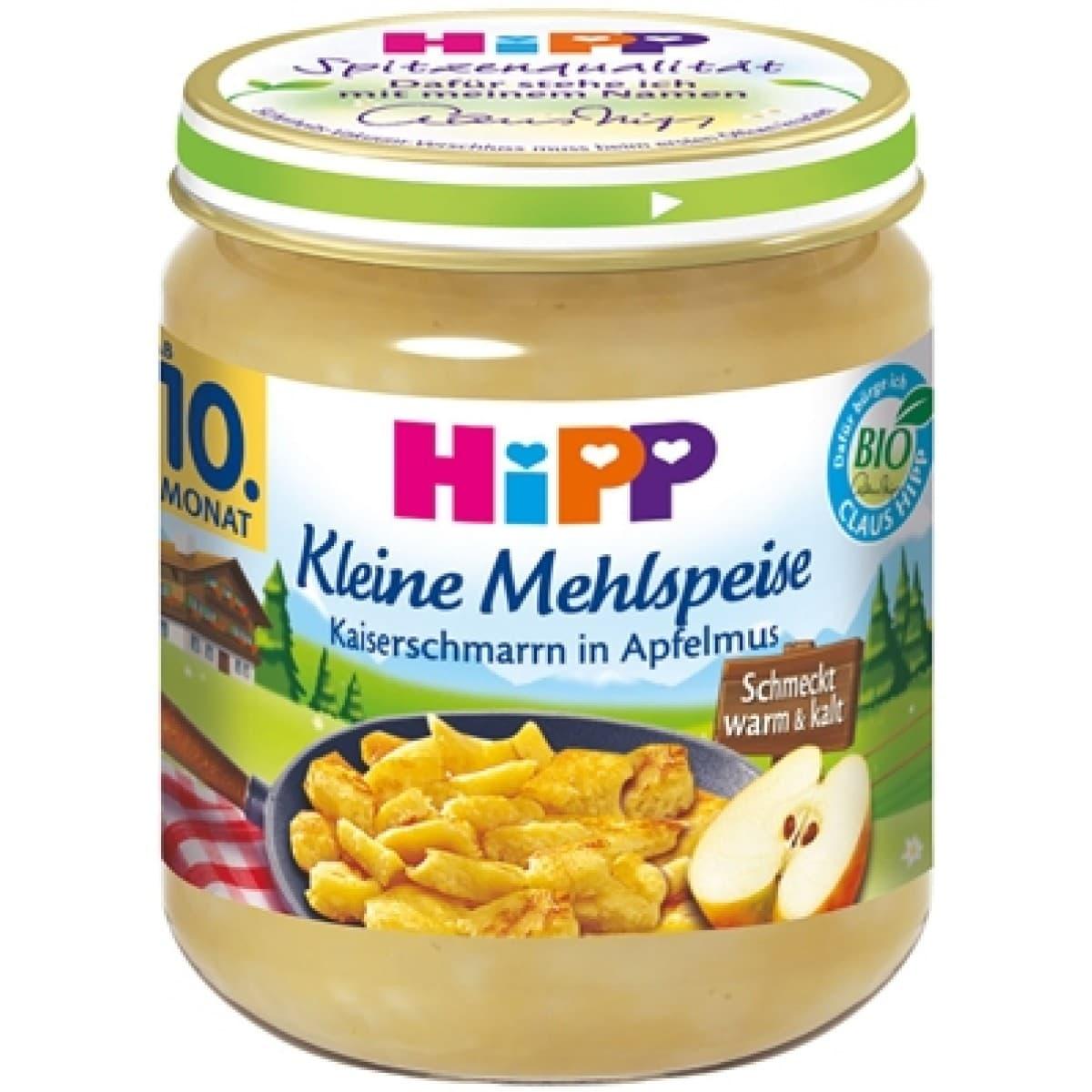 Hipp-пюре палачинка с мус от ябълки 10м+ 200гр