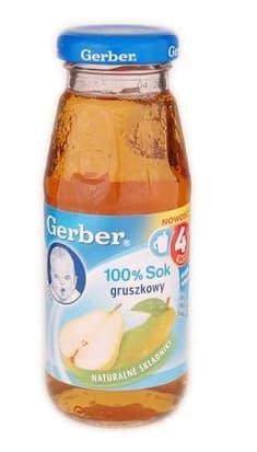 Gerber- сок 100% круша 175ml