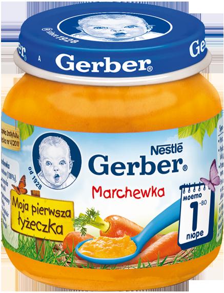 Gerber-пюре моркови 125гр