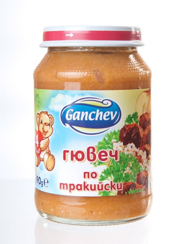 Ganchev-пюре гювеч по тракийски 4м+ 190гр