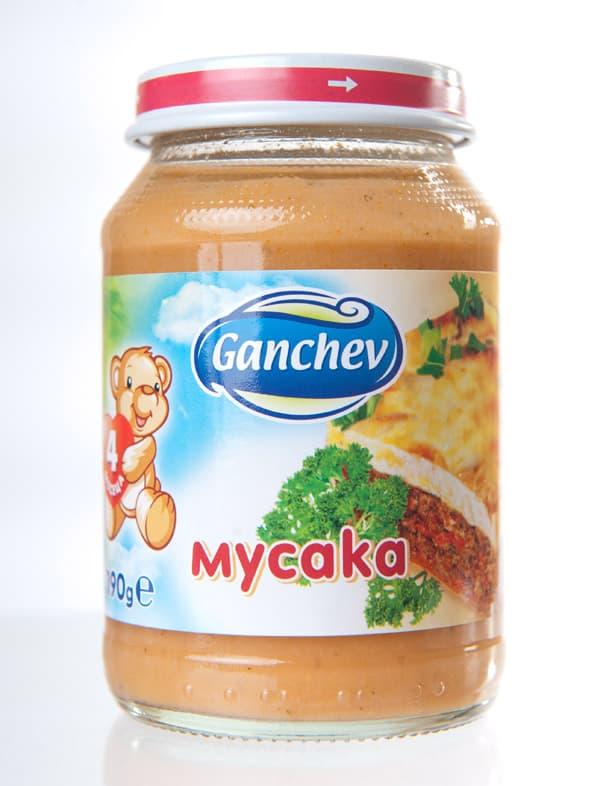 Ganchev-пюре мусака 4м+ 190гр