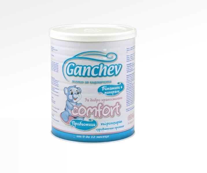 Ganchev Comfort-мляко за добро храносмилане 400гр