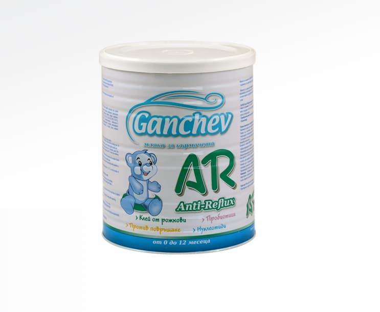 Ganchev AR-анти рефлукс мляко за кърмачета 400гр