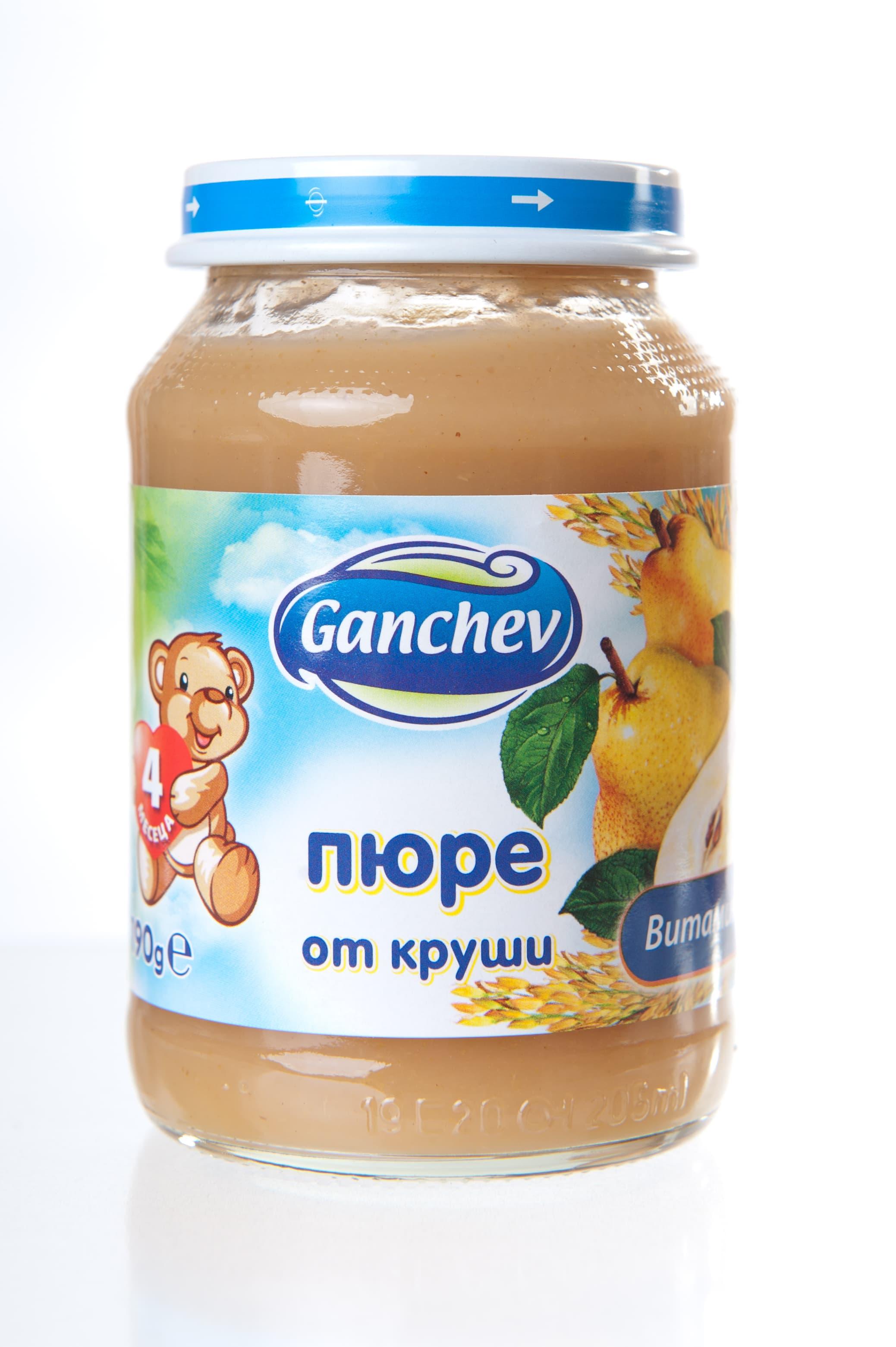 Ganchev-пюре от круши 4м+190гр