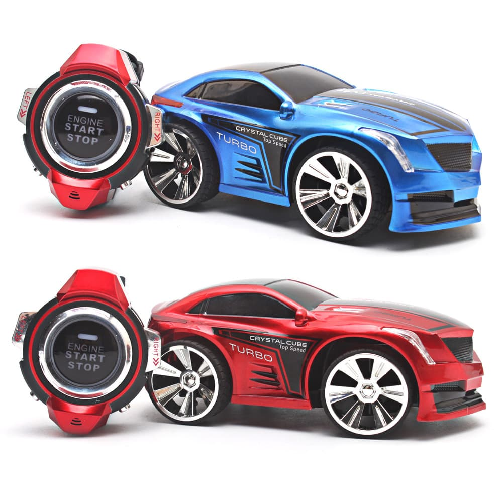 Смарт кола с дистанционно и часовник с гласови команди