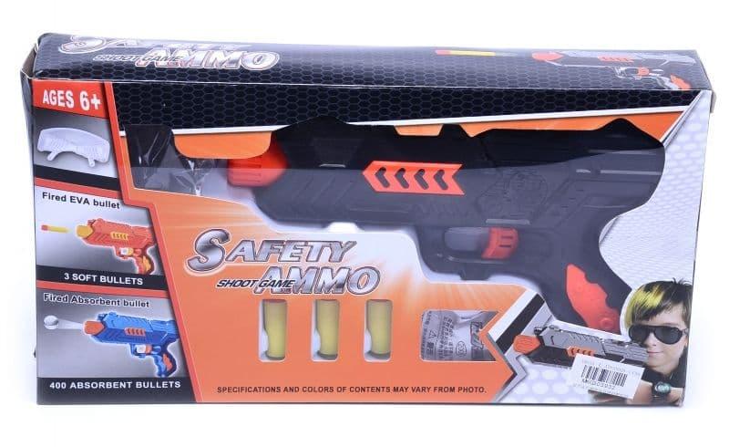 Пистолет с меки стрели и водни бомби