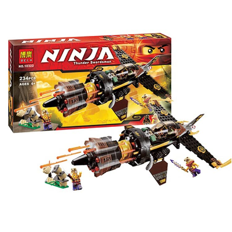 Ninjago-конструктор Thunder swordsman 234ч