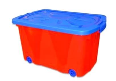 Кутия за играчки с колелца