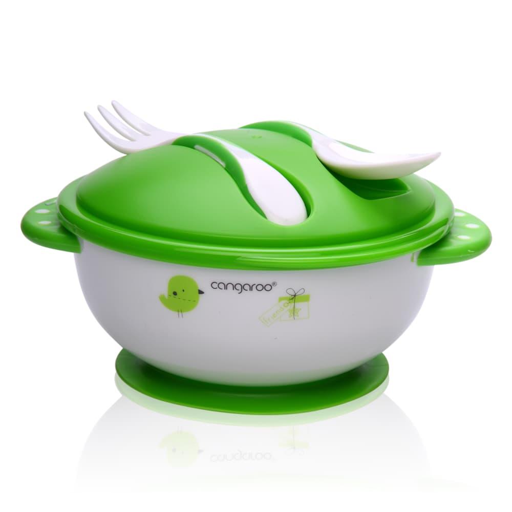 Cangaroo-купа за храна с вилица и лъжица