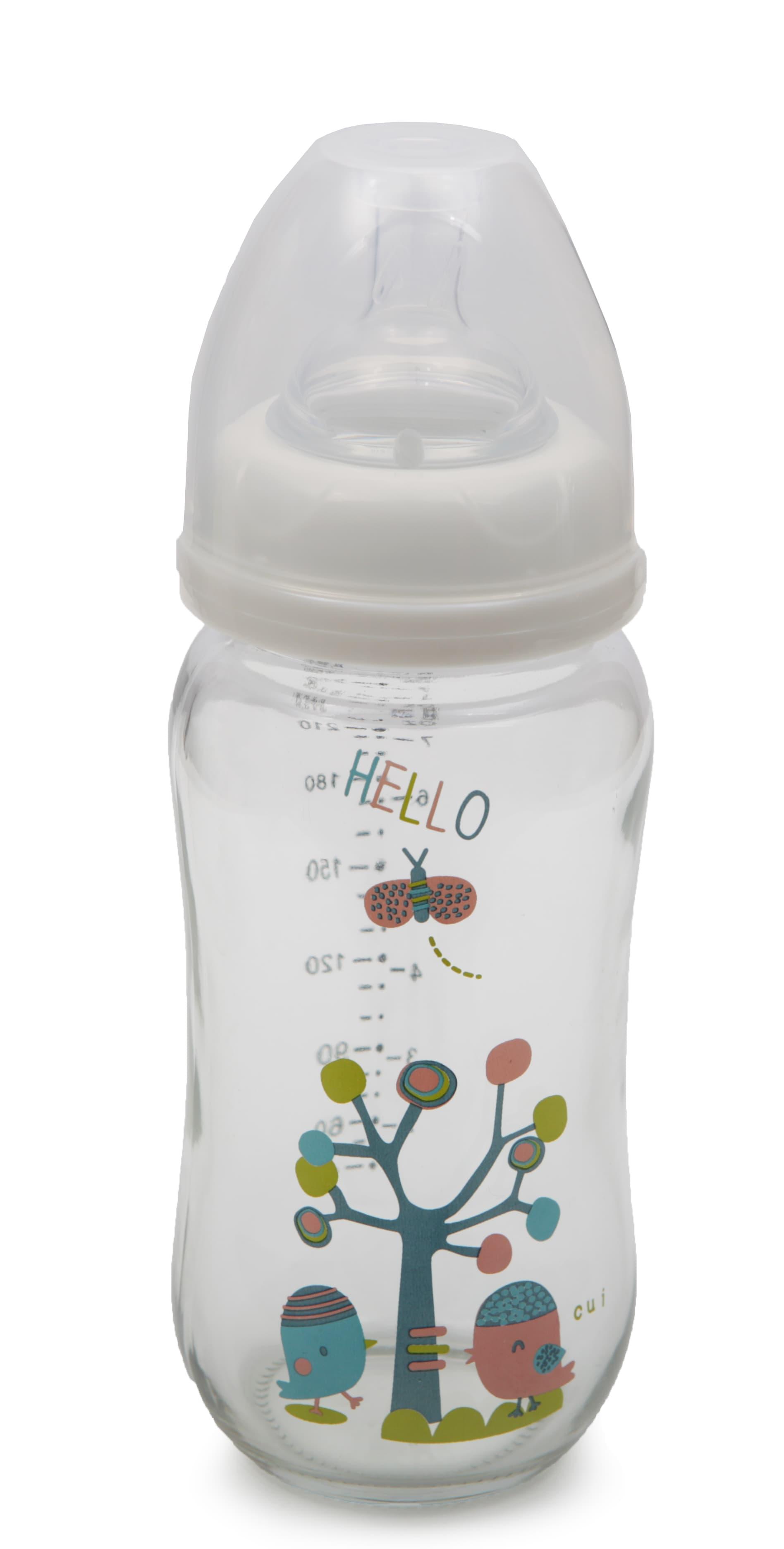 Cangaroo-шише стъкло с широко гърло 240ml