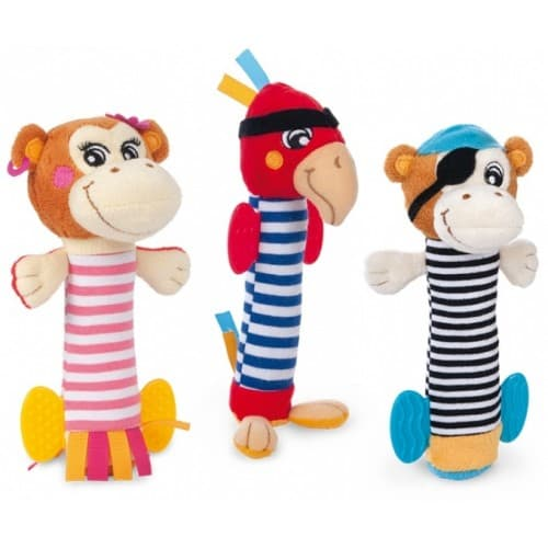 Canpol-Мека играчка с пищялка Пирати