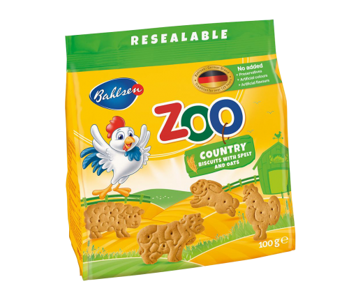 Leibniz-бисквити Zoo country
