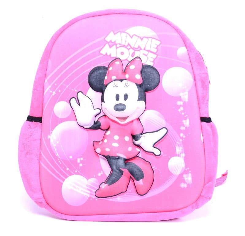 Плюшена релефна раница Minnie Mouse