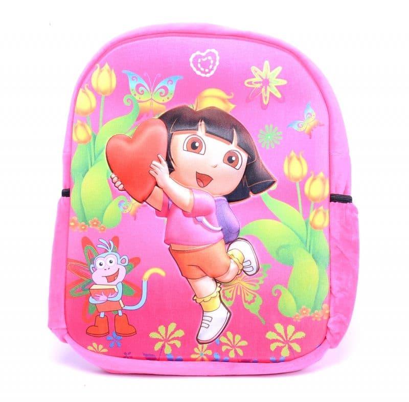Плюшена релефна раница Dora
