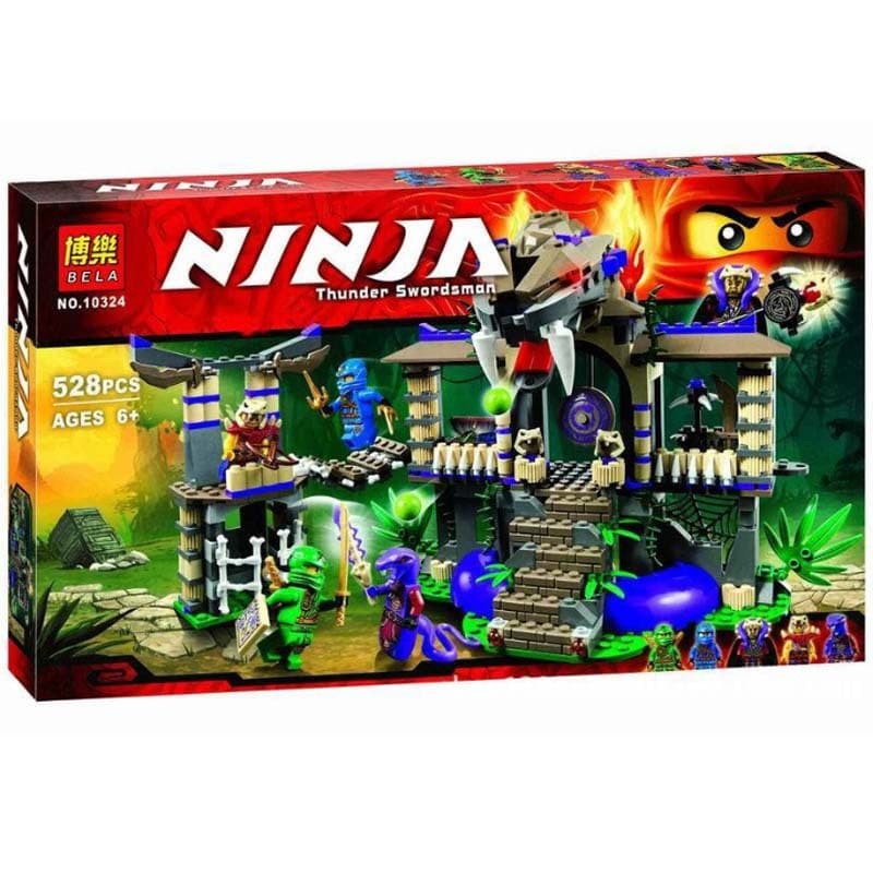 Ninjago-конструктор Thunder swordsman 528ч