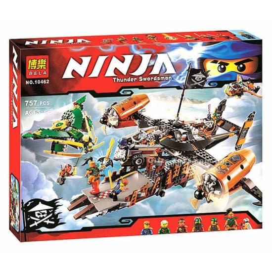 Ninjago-конструктор Крепостта на нещастието 757ч