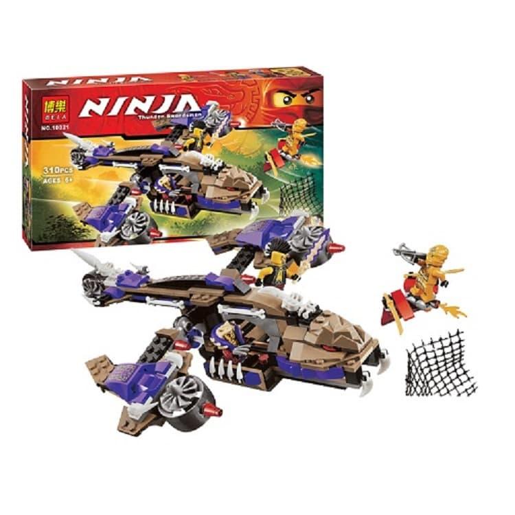 Ninjago-конструктор Thunder swordsman 310ч