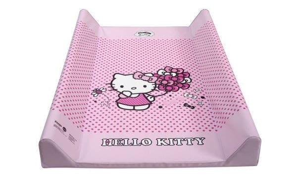 Мека подложка за повиване 50х70 Hello Kitty-розов