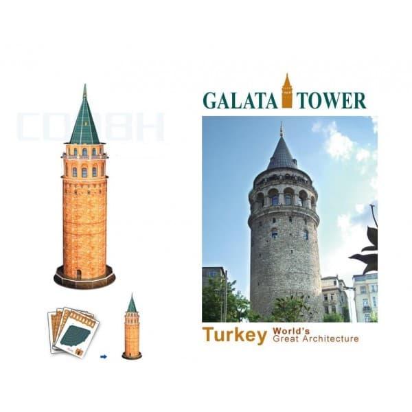 3D пъзел Galata 18 части