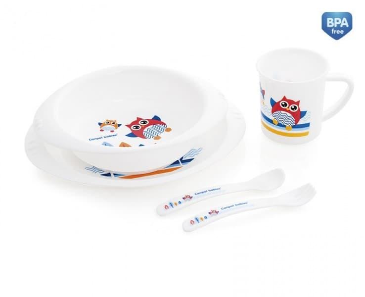 Canpol-комплект за хранене Сови 5ч