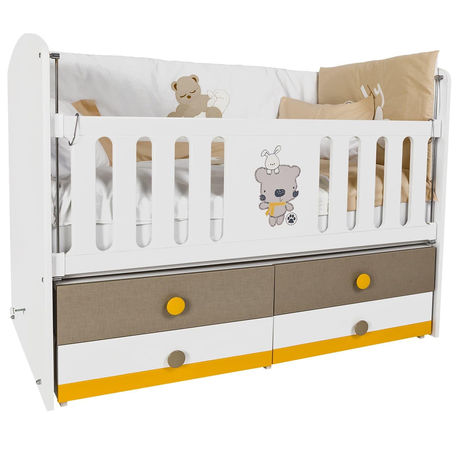 Детска кошара Moca 70x130