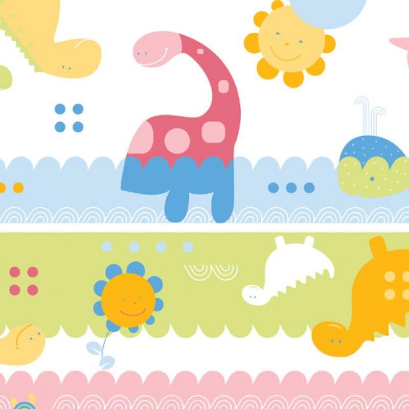 Детска кошара за игра сгъваема  Square - Цвят: Розово елементи