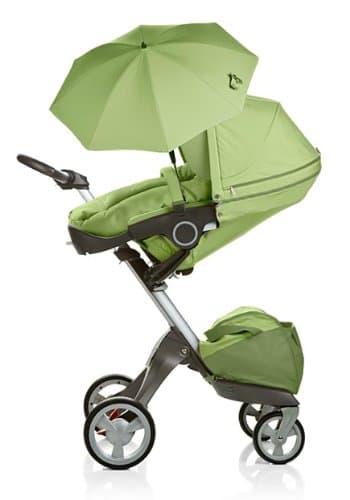 Doux bebe-чадър за количка Ultimate light green