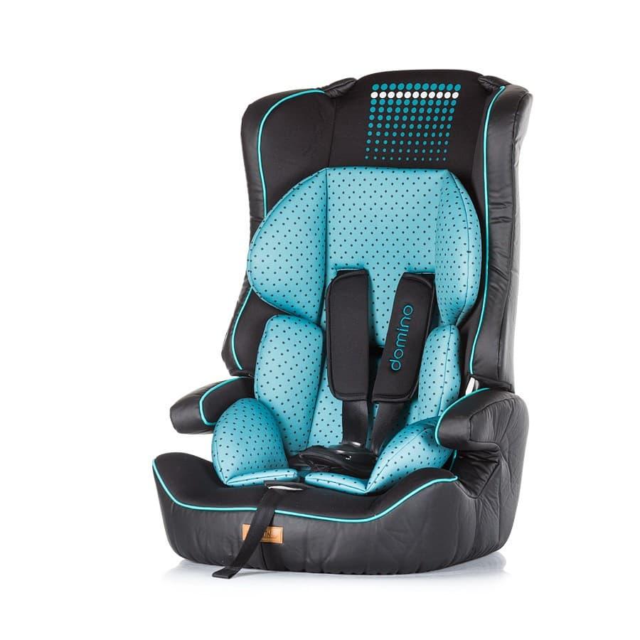 Chipolino-Стол за кола Domino 9-36 кг - Цвят: Син