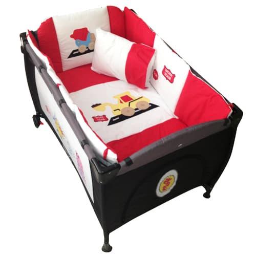 Бебешки спален комплект 7 части Colourful 70х130 см