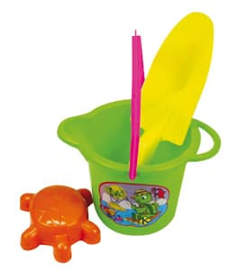 Детска кофичка с лопатка и фигурка 5403