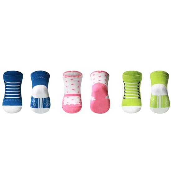 Бебешки памучни чорапки 0+ 572/02