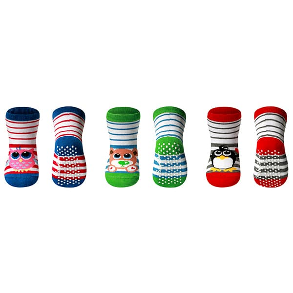 BabyOno-Бебешки памучни чорапки 6м+ 589/01