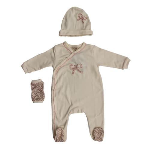 Бебешки комплект 3ч от органичен памук