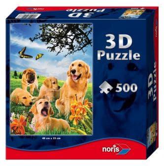 3D пъзел Кучета