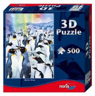 3D пъзел Пингвини
