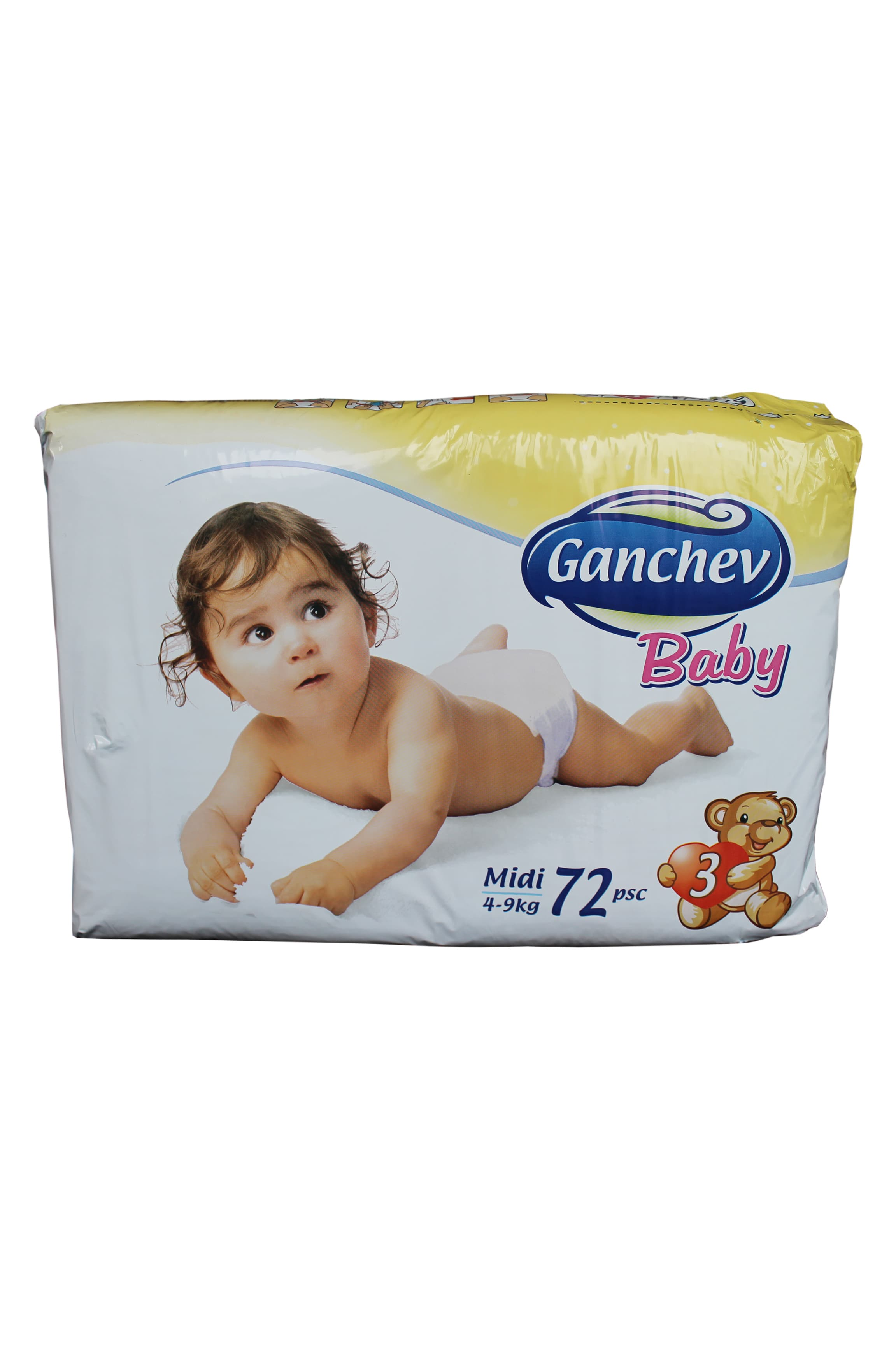 Ganchev-пелени Midi3 4-9кг 72бр