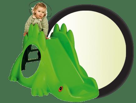 Пързалка Динозавър