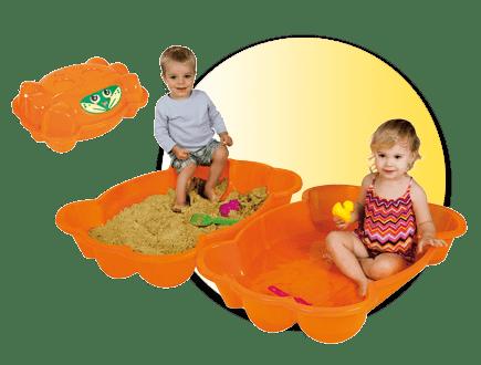 Пясъчник с капак Рак 753