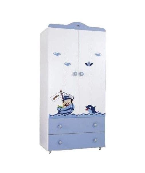 Babyhope- двукрилен гардероб 942 с картинка