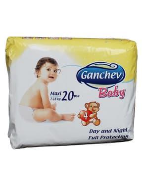 Ganchev-пелени Maxi4 7-18кг 20бр