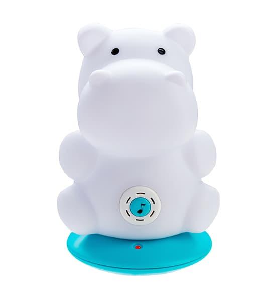 BabyOno-Музикална нощна LED лампа Хипо