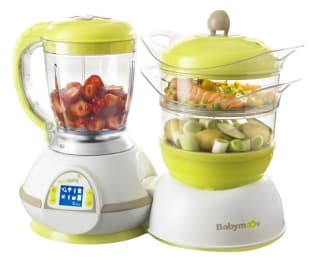 Уред за готвене Nutribaby зелен