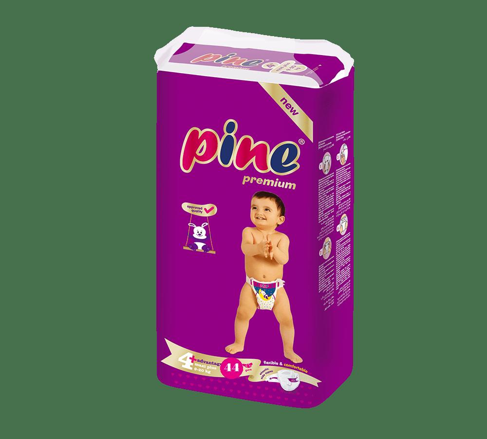 Pine Maxi Adv.4+ 9-20кг 44бр