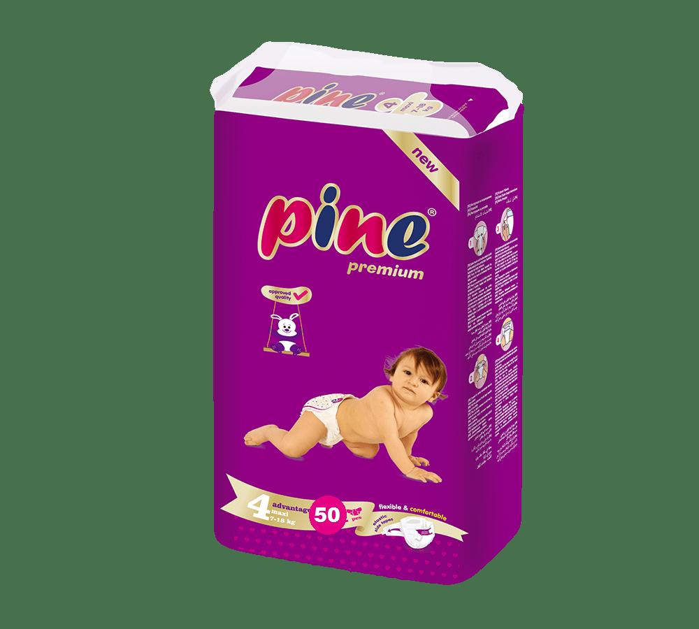Pine Maxi Adv.4 7-18кг 50бр
