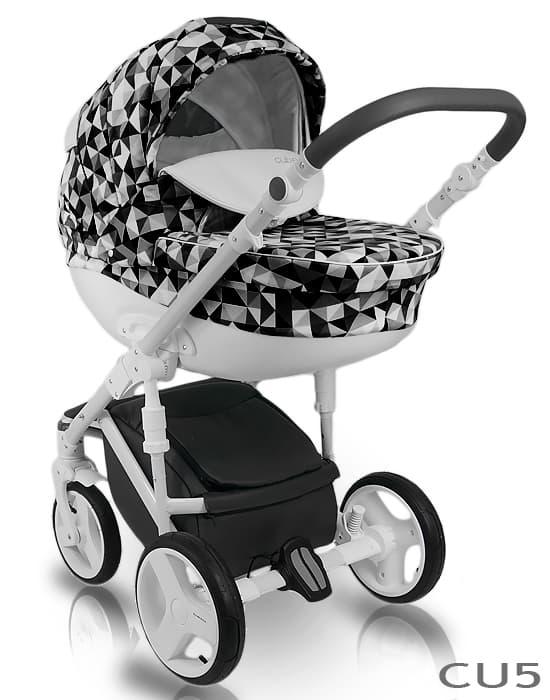 Бебешка количка 2в1 Bexa Cube цвят:CU5