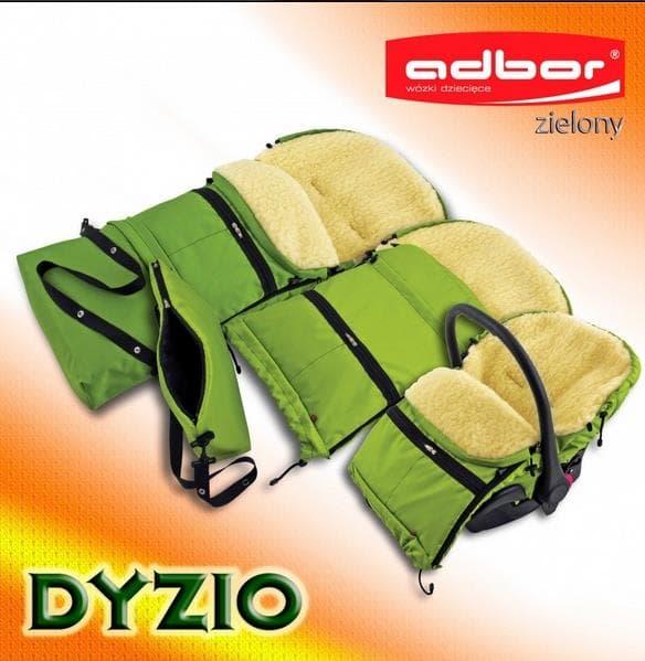 Чувалче за количка 4в1 Dyzio