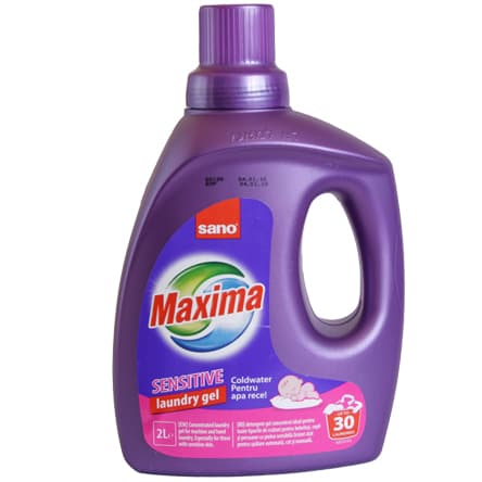 Sano-гел за пране Maxima sensitive 2л